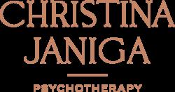 Christina Janiga Psychotherapy Light Logo